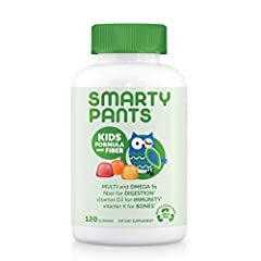 Kids Formula & Fiber with new premium ingredients, all in one delicious serving: Beta Carotene, Vitamin B6, Vitamin K2 & Choline (Packaging May Vary). Non-GMO. Free of milk, eggs, peanuts, tree nut allergens, fish allergens, shellfish, soy, gluten an...