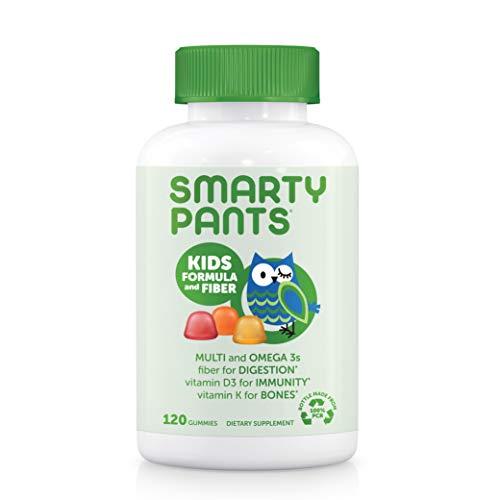 SmartyPants Kids Formula & Fiber Daily Gummy Multivitamin 120 Count $8.52 w/ S&S at Amazon
