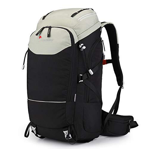 MOUNTAINTOP 50L Rucksack Daypack Trekkingrucksäck Wanderrucksack Backpacker Reiserucksack für Damen Herren