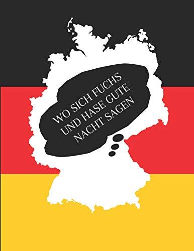 Wo Sich Fuchs Und Hase Gute Nacht Sagen: Notizbuch Journal