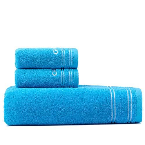 NYKK Toallas de baño Toallas de baño del baño de Adultos Toalla de baño de algodón, más Gruesa de baño Toalla Absorbente de Embalaje doméstico paño de baño Toallas de baño Toallas Toallas para baño