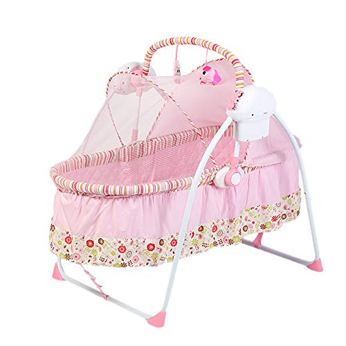 Best Price Electric Smart Infant Bouncers Balance Toddler Rocker Baby Automatic Folding Shaker Music...