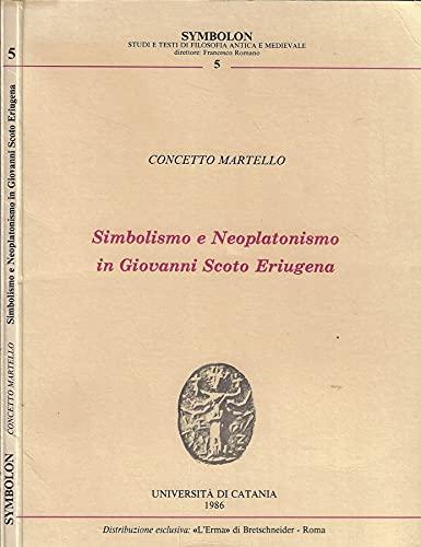 Simbolismo e neoplatonismo in Giovanni Scoto Eriugena.