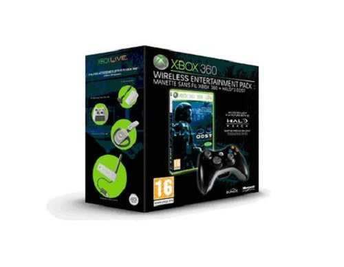 Halo 3 ODST + manette noire sans fil entertainment pack