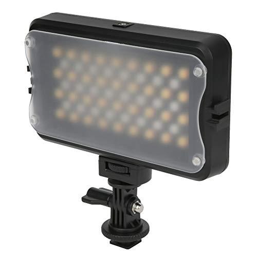Haokaini Rb10 Rgb Led Video Licht 24 Rgb +36 Zweifarbiger Lampenchip Ultrahelles Dimmbares Kameralicht 2500-8500K Farbtemperatur Fotografielicht