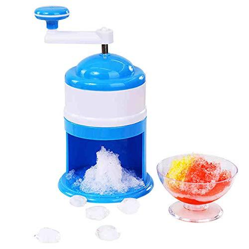 BL Manuelle Crushing Ice Machine, Ice Shaver Crusher Manueller Ice Cube Crusher für Schneekegel Slushies Smoothies und Iced Coffees