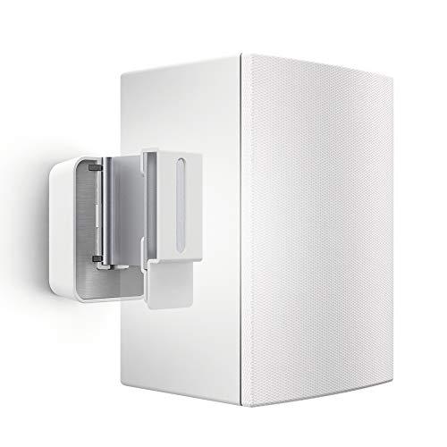 Vogel's universele luidspreker wandhouder, geschikt voor Denon Home 150 Wandhouder aluminium Max 5 kg wit