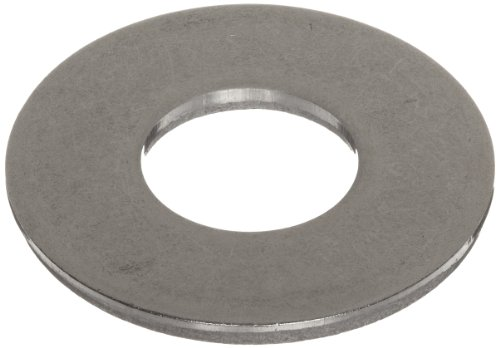 18-8 Stainless Steel Flat Washer, #6 Hole Size, 0.156