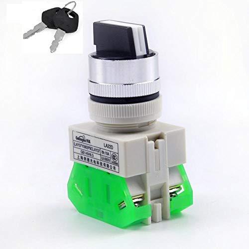 RV-Parts Drosselschalter mit Schloß DREI Stufen Schalter 500W 800W Kinderquad Elektroquad
