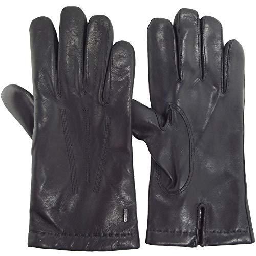 ESKA Dylan 0130 Herren Leder-Handschuhe, schwarz (black), Gr. 10 1/2