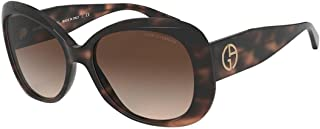 Sunglasses Giorgio Armani AR8132 573413 glasses Woman color Brown lens brown size 56 mm