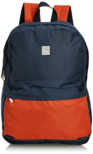Etnies Entry Backpack, Unisex - Erwachsene Rucksack, Blau - Marineblau/Orange - Größe: One Size