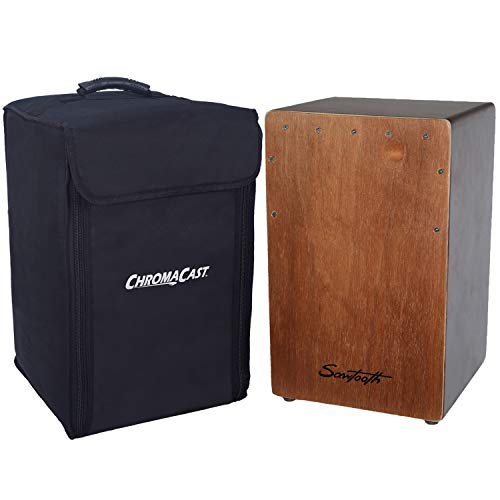 Sawtooth Cedar Wood String-Snare Cajon with Soft Case
