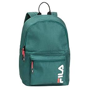 41dZxudwD6L. SS300  - Fila 685005 - Mochila escolar Fila, color verde