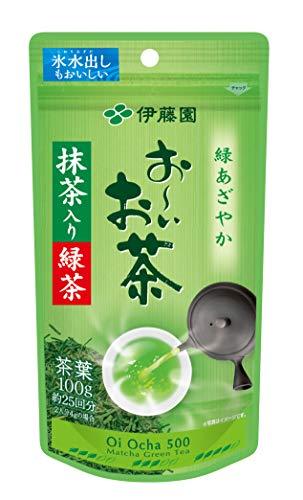 Itoen Oiocha Matcha-iri Ryokucha - Japanese Green Tea Leaf - 100g