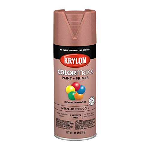 Krylon K05593007 COLORmaxx Spray Paint and Primer for Indoor/Outdoor Use