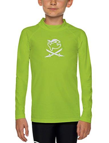 IQ UV-beschermende kleding kinderen shirt om te zwemmen & spelen TÜV getest, Oeko Tex 100 gecertificeerd, geproduceerd in Europa