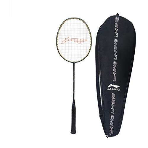 Li-Ning G-TEK 78 GX (AYPP294-5) Composite Strung Badminton Racquet (Blue/Gold) with Free Cover