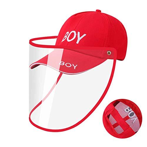 HFJ&YIE&H Anti-Droplet Chapeau détachable Design Sun Chapeau Masque d'extérieur Protecteur d'arrêt Saliva Capeline,D