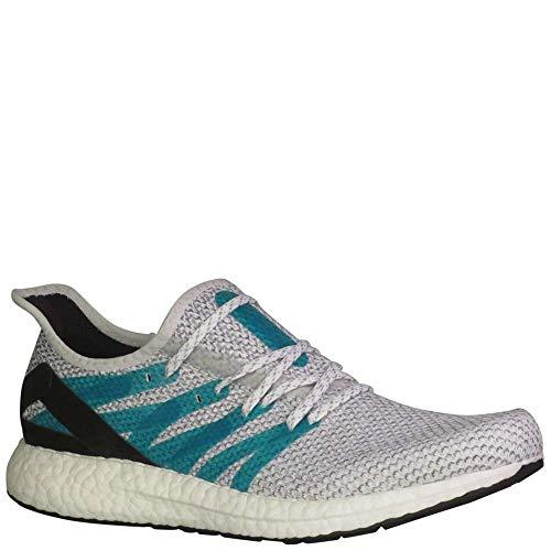 Price comparison product image adidas Speedfactory AM4LDN Men's Running Shoe - Cloud White / Shock Green / Shock Green (9)