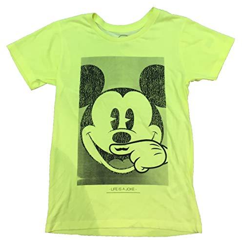 Eleven Paris - Camiseta de Manga Corta Mikey, Chica, Color: Amarilla, Talla: 10