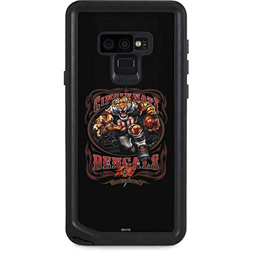 Skinit Waterproof Phone Case Compatible with Galaxy Note 9 - Officially Licensed NFL Cincinnati Bengals Running Back Design