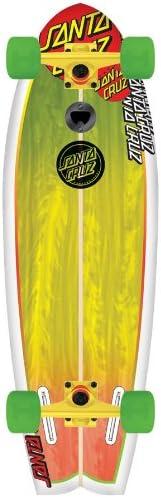 Santa Cruz Land Shark Longboard  Best Longboarding Wheels For Cruising
