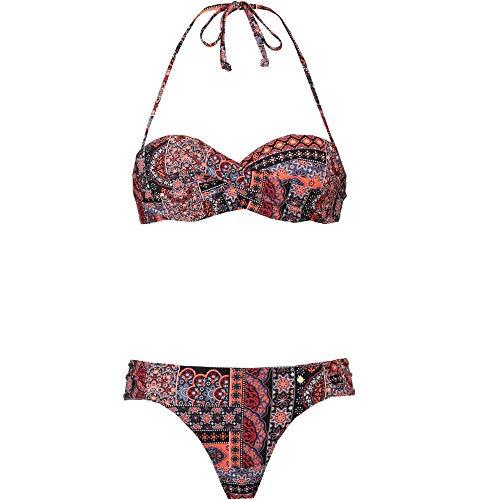 s.Oliver Damen Bikini Set schwarz 36 / C