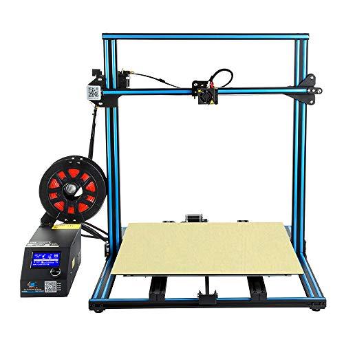 HZYYZH Imprimante 3D, Impression Hors Ligne de Carte SD de Support d'imprimante 3D de Grande Taille de 500M * 500Mm * 500Mm DIY,Blue