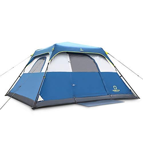 QOMOTOP Waterproof 4 People 60-Second Set Up Tent, Instant Cabin Tent, Camping...