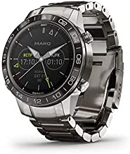 Garmin MARQ Aviator, Men's Luxury Tool Watch Designed for Your Passion for Aviation, View Flight Paths, Weather Reports, Start Flight Logging and More