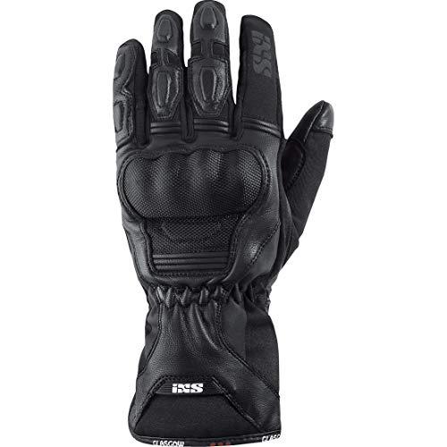 IXS Motorradhandschuhe lang Motorrad Handschuh Glasgow Handschuh schwarz 5XL, Herren, Tourer, Ganzjährig, Polyester