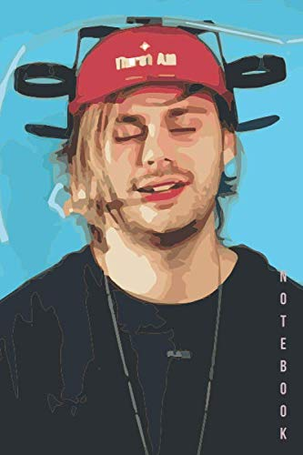 Notebook: 5 Seconds of Summer Michael Clifford Watercolor Drawing Notebook Gift Journal