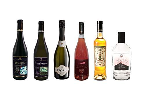 Etnazar - Cofanetto mix vini siciliani - Cantine Patria - 6 bottiglie