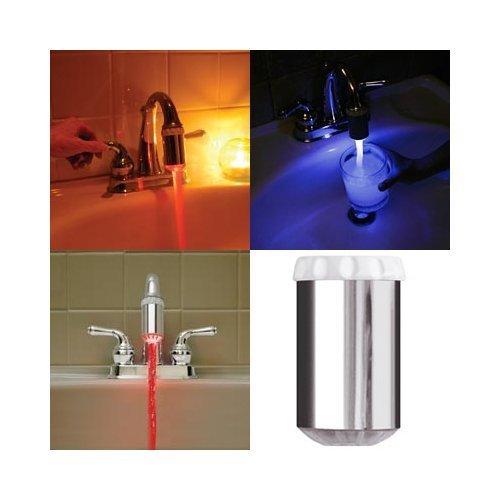 kirinstores (TM) 3 couleur robinet LED avec détecteur de température