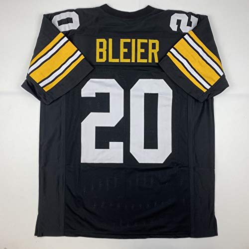Unsigned Rocky Bleier Pittsburgh Black Custom Stitched Football Jersey Size Men's XL New No Brands/Logos