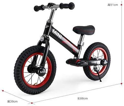 Envio gratis en todas las ordenes Linshenyoulu Bicicleta balanceada balanceada balanceada Scooter Bebé Juguete Scooter Scooter Scooter Pedal-Less Bicicleta,negro  más descuento