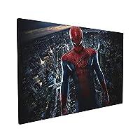 マーベル映画スパイダーマン 装飾画 壁の絵 壁掛け アートパネル 絵画 壁の装飾画 壁ポスター キャンバスアート 額縁のある絵 30x40cm