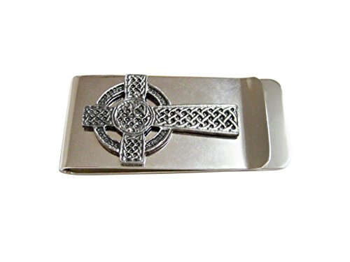 Kiola Designs Very Large Celtic Cross Money Clip
