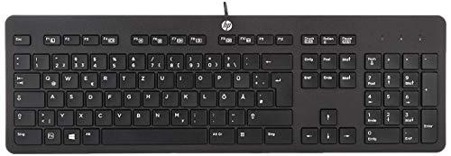 HP USB Business Slim Tastatur (DE)