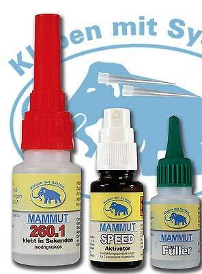 Mammut 260.1 Set Klein (Einweg Behälter)
