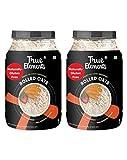 True Elements Rolled Oats Gluten Free (1.2 kg * 2) - Cereal for Breakfast, Plain Oats, Diet Food for...