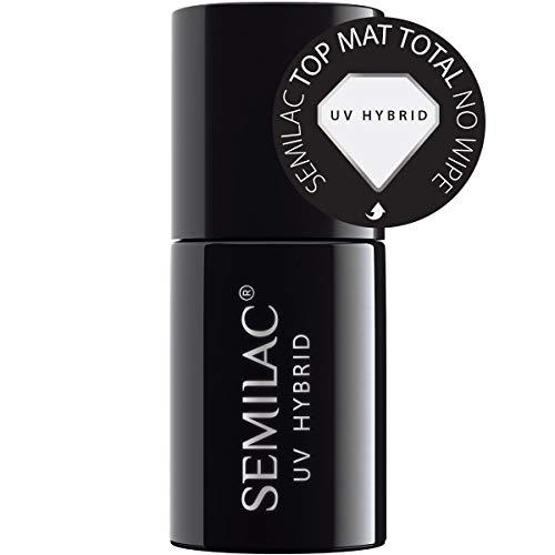 Semilac Top Mat Total No Wipe 7ml