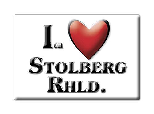 Enjoymagnets STOLBERG RHLD. (NW) Souvenir Deutschland Nordrhein Westfalen Fridge Magnet KÜHLSCHRANK Magnet ICH Liebe I Love