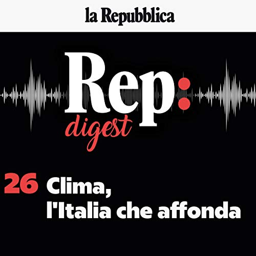 Clima, l'Italia che affonda audiobook cover art