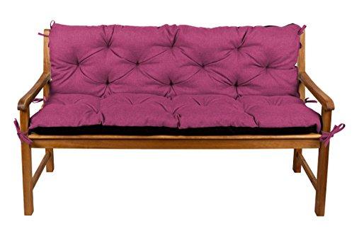 gutekissen Sitzbank-Kissen, für Terrasse, Rasen, Gartenschaukel, Gartenmöbel L