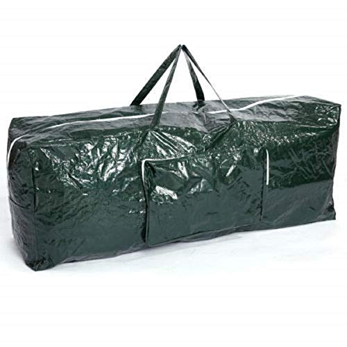 Ram Extra Large Christmas Tree Storage Bag Suitable for up to 7ft Trees With Side Pocket Pouch