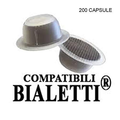 Capsule compatibili con bialetti per mokona Smart Diva tazzissima caffè Moka 200 Capsule