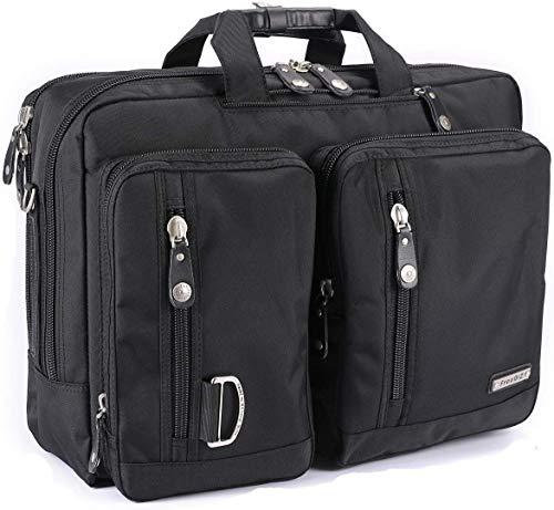 FreeBiz 18-Zoll-Laptop-Tasche Multifunktions -Laptop-Aktenkoffer -Rucksack mit Tragegriff & Schultergurt Passend bis zu 18,4 Zoll Gaming Laptops für Dell, Asus.Msi (18,4 Zoll)