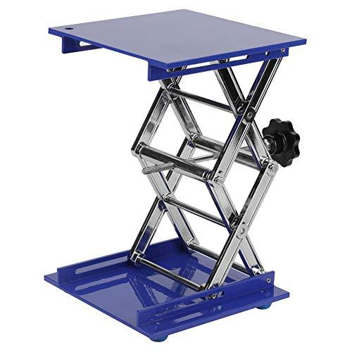 200×200×280mm Lab Scissor Jack Labor Lab Hubarbeitsbühne Labortische Edelstahl wissenschaftliches Laborscheren Jack Plattform Höhen justierbare